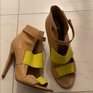 Rachel Roy sandal heels caged size 7 1/2